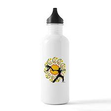 Asanas Yoga Design Stainless Water Bottle 1.0L