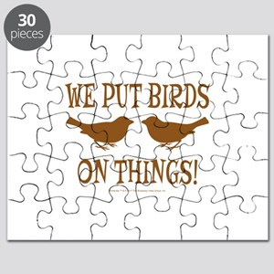 We Put Birds On Things Puzzle