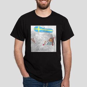 Cindy's Gallery Sweden Dark T-Shirt