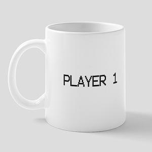 PLAYER 1  Mug
