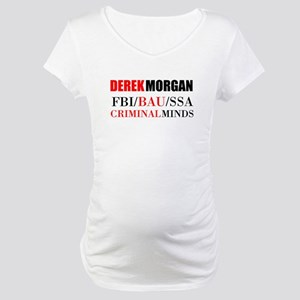 Derek Morgan Maternity T-Shirt