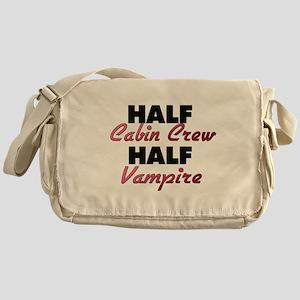 Half Cabin Crew Half Vampire Messenger Bag