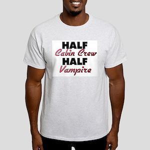 Half Cabin Crew Half Vampire T-Shirt