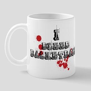 I Bleed Basketball Mug