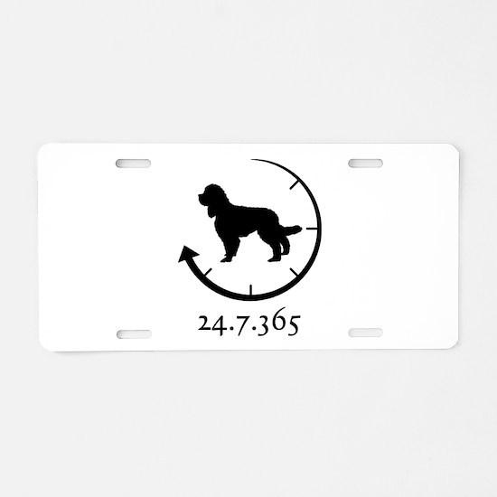 Barbet Aluminum License Plate