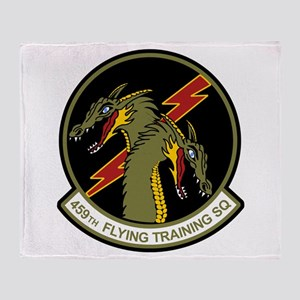 459th FTS Throw Blanket