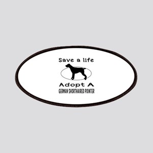 Adopt A German Shorthaired Pointer Dog Patches