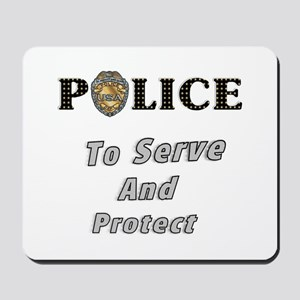 Police Service Mousepad