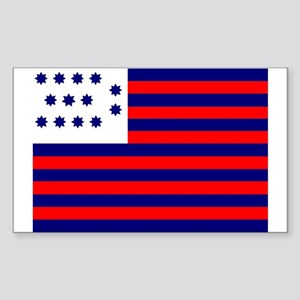 Guilford Courthouse Rectangle Sticker