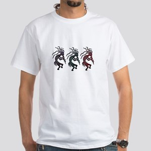 Kokopelli White T-Shirt