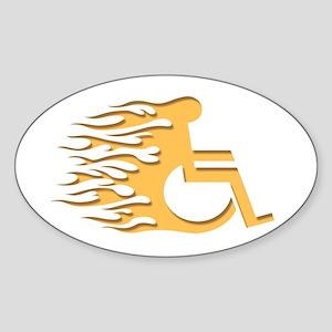 Speed Wheeling Sticker (Oval)