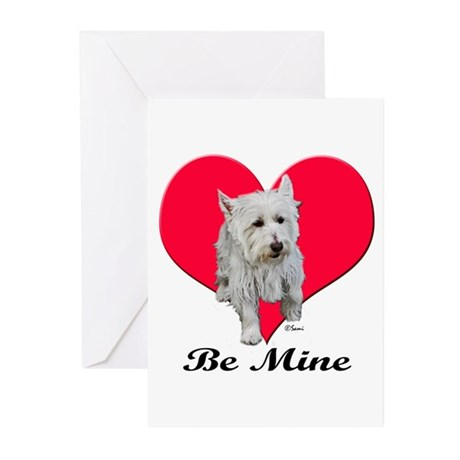 Max the Westie Greeting Cards (Pk of 10)