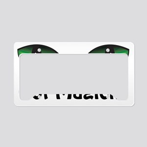 Green Eyes Got Magick? License Plate Holder