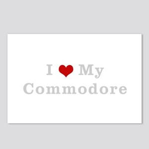 I love my commodore Postcards (Package of 8)
