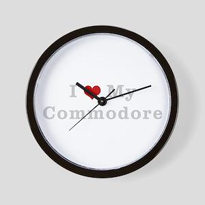 I love my commodore Wall Clock