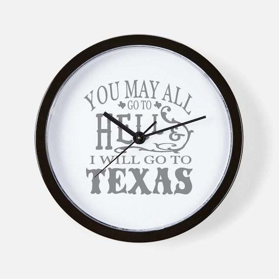 Unique You all Wall Clock