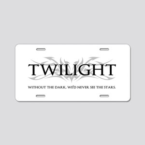 twilight Aluminum License Plate