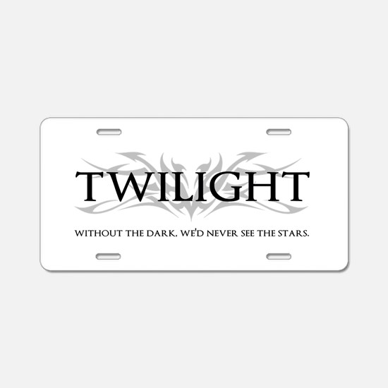 twilight Aluminum License Plate