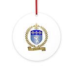 FONTENOT Family Crest Ornament (Round)