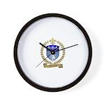 FONTENOT Family Crest Wall Clock