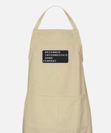 Which level are you? expert.  BBQ Apron