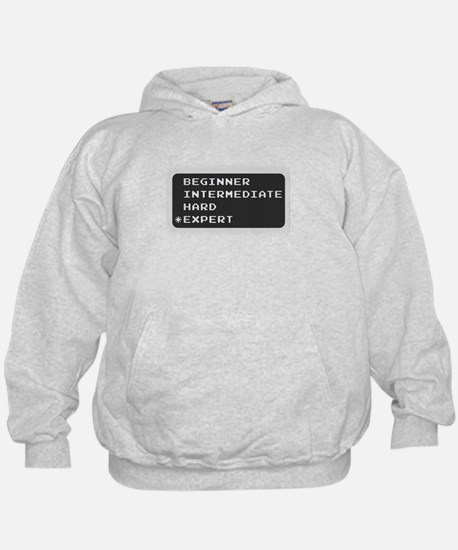 Which level are you? expert.  Hoodie
