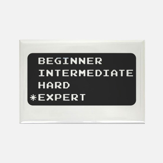Which level are you? expert. Rectangle Magnet