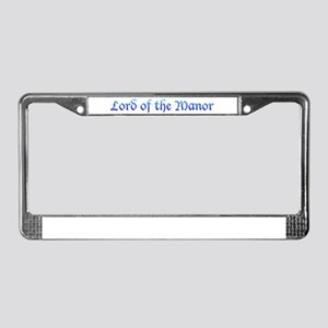 Lord of the Manor License Plate Frame