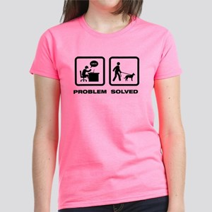 Beauceron Women's Dark T-Shirt