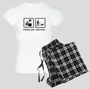Beauceron Women's Light Pajamas
