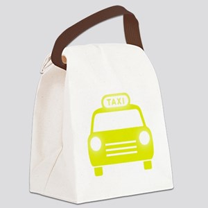 Taxi Canvas Lunch Bag