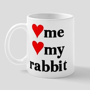 LOVE ME LOVE MY RABBIT Mug