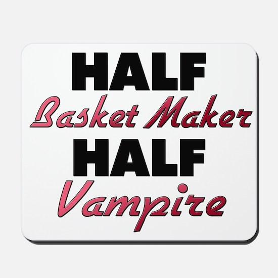 Half Basket Maker Half Vampire Mousepad