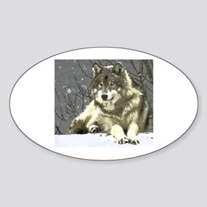 Gray Wolf Sticker