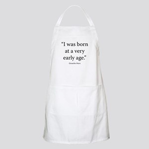 Groucho and Me Apron
