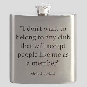 Telegram to the Friars Club Flask