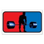 DEADLIFT Rectangle Sticker