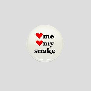 LOVE ME LOVE MY SNAKE Mini Button