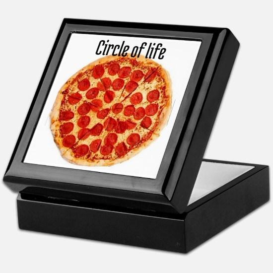 circle of life Keepsake Box
