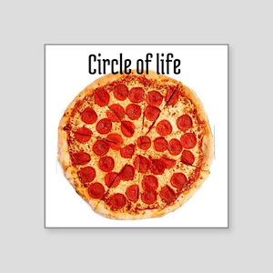 "circle of life Square Sticker 3"" x 3"""