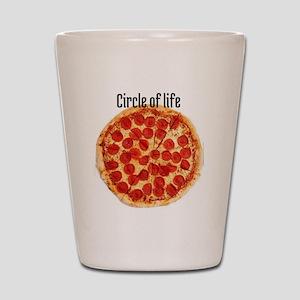 circle of life Shot Glass