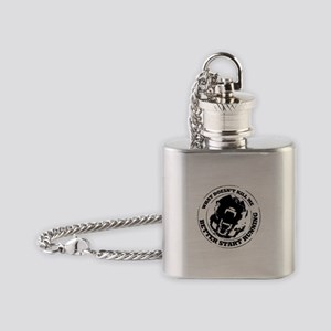 Malinois Flask Necklace