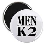 "Men K2 2.25"" Magnet (100 pack)"