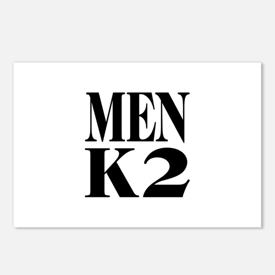 Men K2 Postcards (Package of 8)