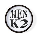Men K2 Wall Clock