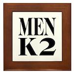 Men K2 Framed Tile