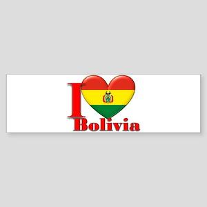I love Bolivia Sticker (Bumper)