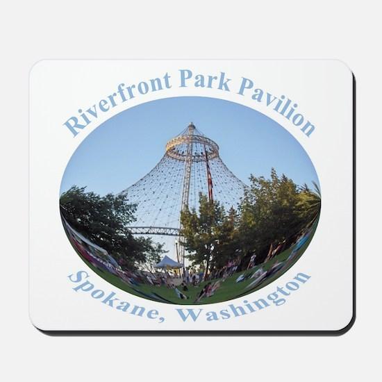 Spokane Riverfront Park Pavilion Mousepad