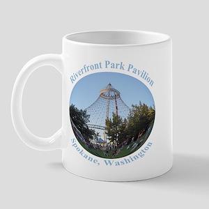 Spokane Riverfront Park Pavilion Mug