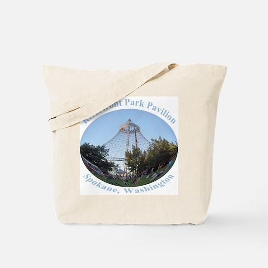 Spokane Riverfront Park Pavilion Tote Bag